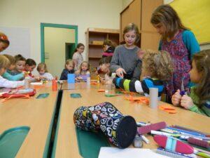 Basteln mit Kindern aus dem Kindergarten